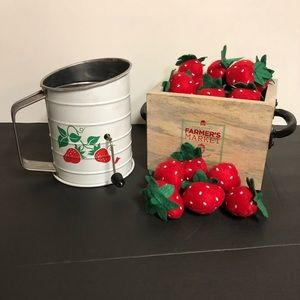 Other - Strawberry decor